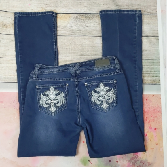Hydraulic Lola Curvy Jeans 5/6 Micro Boot